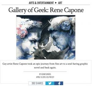 The Advocate Met With Rene Capone In Oakland, Calif., Studio To Explore His Artistic Past, Present, And Future ...